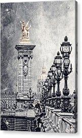 Paris Pompous 2 Acrylic Print by Joachim G Pinkawa