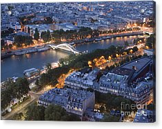 Paris View Acrylic Print by Ivete Basso Photography