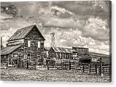 Parker Homestead Acrylic Print by Ken Smith