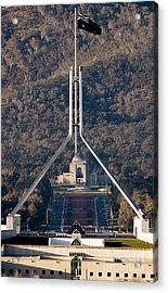 Parliament And War Memorial Australia Acrylic Print by Steven Ralser