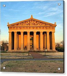 Parthenon Acrylic Print by Dan Sproul