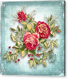 Party Of Flowers  Acrylic Print by Mark Ashkenazi