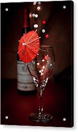 Party Time Still Life Acrylic Print by Tom Mc Nemar