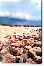 Passing Storm Acrylic Print by Julie Wilcox