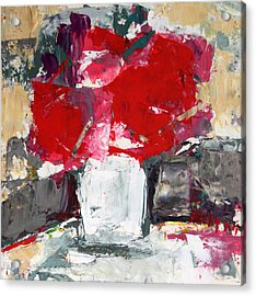 Passion 2 Acrylic Print by Becky Kim