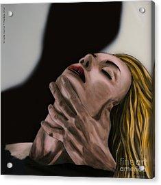 Passion Acrylic Print by Betta Artusi