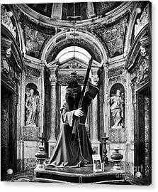 Passion Of Christ Acrylic Print by Jose Elias - Sofia Pereira