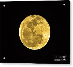 Passover Full Moon Acrylic Print by Al Powell Photography USA