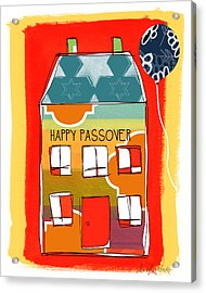 Passover House Acrylic Print by Linda Woods