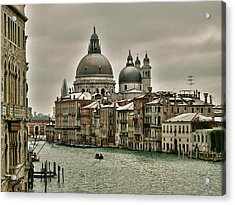 Acrylic Print featuring the photograph Past Time by Thierry Bouriat