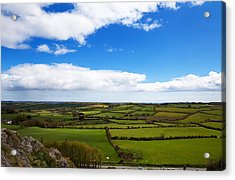 Pastoral View From The Sugar Loaf Rock Acrylic Print by Panoramic Images