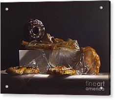 Pastry Acrylic Print by Larry Preston