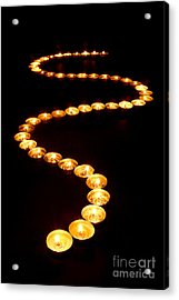 Path Of Light Acrylic Print by Olivier Le Queinec