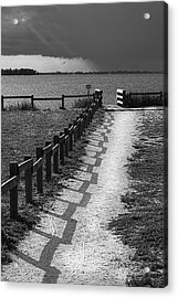 Pathway To The Beach Acrylic Print by Marvin Spates