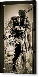 Patriot3 Second Floor Entry Acrylic Print by David Morefield