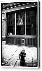 Patriotic Boston Acrylic Print by John Rizzuto