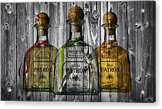 Patron Barn Door Acrylic Print by Dan Sproul