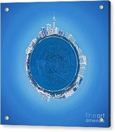 Pattaya World Acrylic Print by Atiketta Sangasaeng