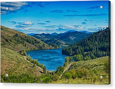 Patterson Lake In The Summer Acrylic Print by Omaste Witkowski