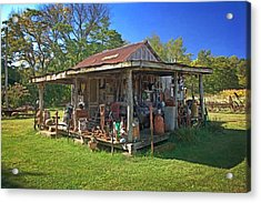 Patterson Place 1 Acrylic Print by Marty Koch