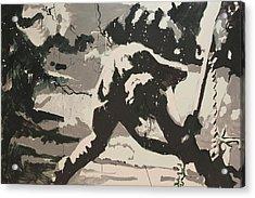 Paul Simonon Of The Clash Acrylic Print by Dustin Spagnola
