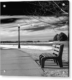 Pause Acrylic Print by Don Spenner