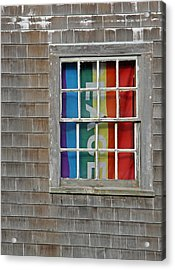 Peace And Pride Acrylic Print by Brooke Ryan