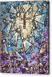 Peace Acrylic Print by Anthony Falbo