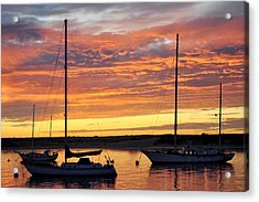 Peace At Days End Acrylic Print by AJ  Schibig
