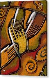 Peace Acrylic Print by Leon Zernitsky