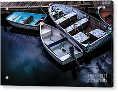Peaceful Harbor Acrylic Print by Diane Diederich