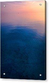Peaceful Sunrise Acrylic Print by Jenny Rainbow