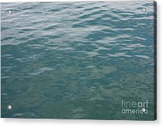 Peaceful Water Acrylic Print by Carol Groenen