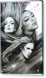'pearl Passions' Acrylic Print by Christian Chapman Art