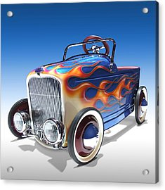 Peddle Car Acrylic Print by Mike McGlothlen