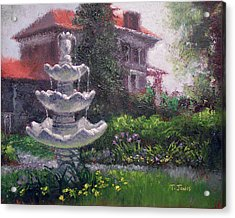 Peel Mansion Acrylic Print by Timothy Jones