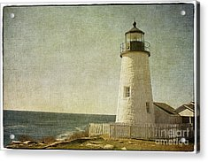 Pemaquid Lighthouse 2 Acrylic Print by Cindi Ressler