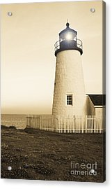Pemaquid Point Lighthouse Acrylic Print by Diane Diederich