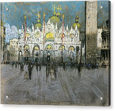 Pennell Venice, C1903 Acrylic Print by Granger