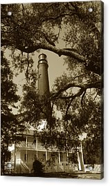 Pensacola Lighthouse Acrylic Print by Skip Willits