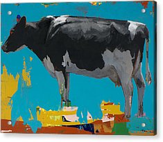 People Like Cows #15 Acrylic Print by David Palmer