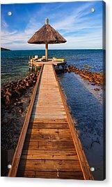Perfect Vacation Acrylic Print by Adam Romanowicz