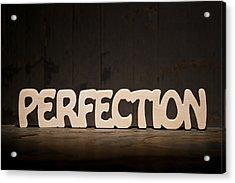 Perfection Acrylic Print by Donald  Erickson