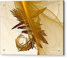Performance Abstract Art Acrylic Print by Karin Kuhlmann