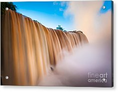 Perpetual Flow Acrylic Print by Inge Johnsson