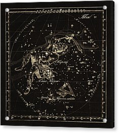 Perseus Constellations, 1829 Acrylic Print by Science Photo Library