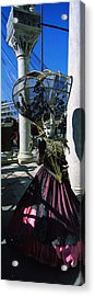Person In Traditional Costumes Acrylic Print by Panoramic Images