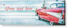 Free Personalized Custom Beach Art Acrylic Print by Edward Fielding