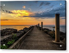 Perspective Light Acrylic Print by Mark Papke