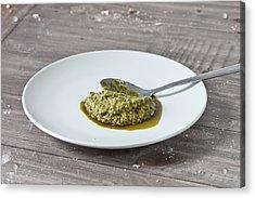 Pesto Acrylic Print by Tom Gowanlock